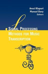 Signal Processing Methods for Music Transcription