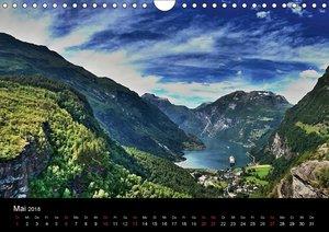 Atemberaubendes Norwegen (Wandkalender 2018 DIN A4 quer)