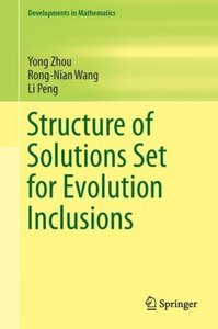 Structure of Solutions Set for Evolution Inclusions