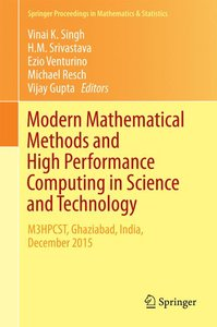 Modern Mathematical Methods and High Performance Computing in Sc