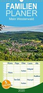 Mein Westerwald - Daadener Land - Familienplaner hoch (Wandkalen