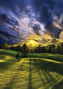 Phil Koch, Sommerspaziergang. Puzzle 1000 Teile