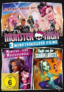 Monster High-3 monsterkrasse Filme (Licht...