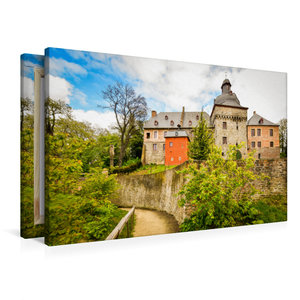 Premium Textil-Leinwand 90 cm x 60 cm quer Verträumte Ansicht au