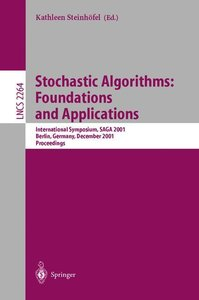 Stochastic Algorithms: Foundations and Applications