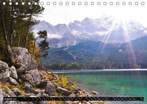 Türkisblaue Seen (Tischkalender 2020 DIN A5 quer)