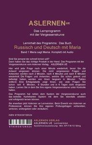 Russisch und Deutsch mit Maria, mit Audio-CD