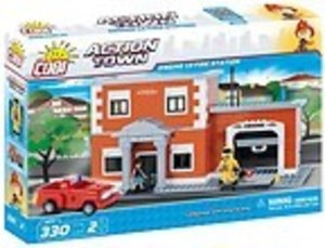 COBI 1477 - ACTION TOWN, Engine 13 Fire Station, Feuerwehrstatio