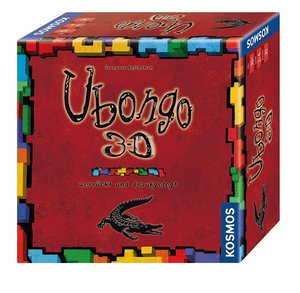 Kosmos 69912 - Ubongo, kleines Format, 18,3 x 11,4 x 3,8 cm
