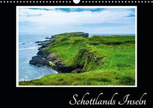Schottlands Inseln (Wandkalender 2021 DIN A4 quer)