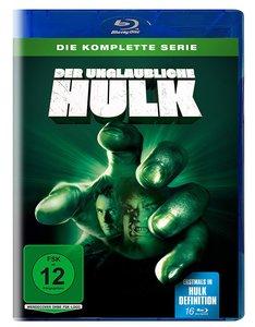 Der unglaubliche Hulk - Die komplette Serie, 16 Blu-ray (Limitie