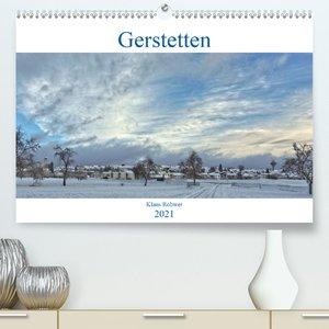 Gerstetten - Familienplaner hoch (Wandkalender 2021 , 21 cm x 45