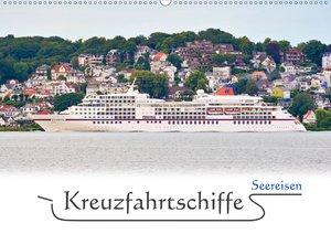 Kreuzfahrtschiffe im Norden (Wandkalender 2021 DIN A4 quer)