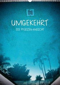 UMGEKEHRT - Die Pfützen-Ansicht (Wandkalender 2021 DIN A4 hoch)