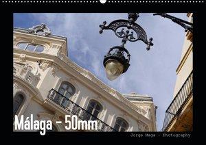 Málaga - 50mm (Wandkalender 2021 DIN A2 quer)