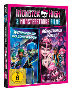 Monster High Hartschalentrolley Suitcase