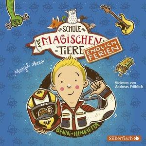 Die Schule der magischen Tiere - endlich Ferien : Meine große Ferienbox, 6 Audio-CDs