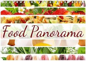 Food Panorama - Küchenkalender 2021 (Premium, hochwertiger DIN A2 Wandkalender 2021, Kunstdruck in Hochglanz)