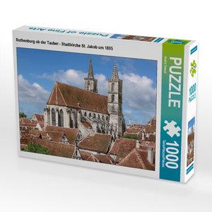 CALVENDO Puzzle Nürnberg - Insel Schütt an der Pegnitz um 1900 1