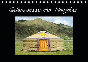 Geheimnisse der Mongolei - Familienplaner hoch (Wandkalender 2021 , 21 cm x 45 cm, hoch)