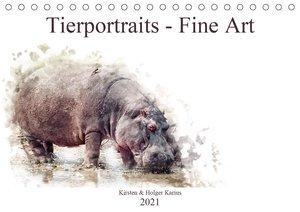 Das Weiße Nashorn (Wandkalender 2021 DIN A3 quer)