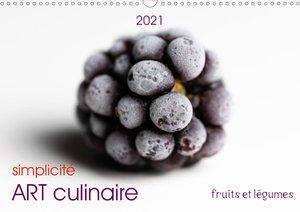 charme ART culinaire (Calendrier mural 2021 DIN A4 horizontal)
