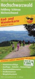 Hochschwarzwald, Feldberg - Schönau - Höchenschwand 1:50 000