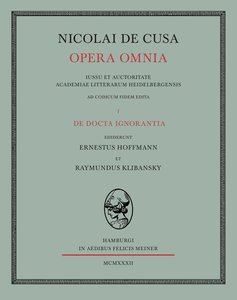Nicolai de Cusa Opera omnia/De beryllo
