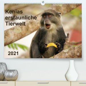 Kenias erstaunliche Tierwelt (Wandkalender 2021 DIN A2 quer)