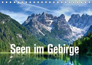 Seen im Gebirge (Wandkalender 2021 DIN A2 quer)
