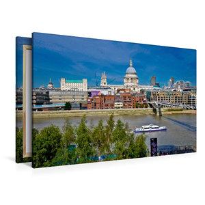 Premium Textil-Leinwand 120 cm x 80 cm quer Little Venice Cavalc