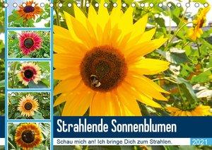 Strahlende Sonnenblumen (Wandkalender 2021 DIN A4 hoch)