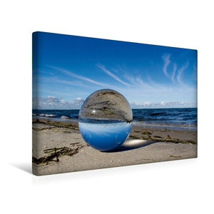 Premium Textil-Leinwand 120 cm x 80 cm quer Ein Motiv aus dem Kalender Natur & Glas