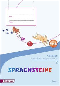 SPRACHSTEINE Sprachbuch 2. Arbeitsheft. SAS Schulausgangsschrift