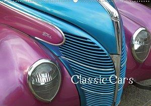 Classic Cars (Tischkalender 2021 DIN A5 quer)