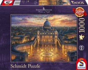 Schmidt Spiele 58451 - Thomas Kinkade: Abendspaziergang