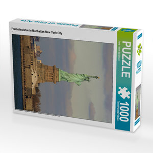 CALVENDO Puzzle Manhattan Skyline von New York City 1000 Teile L