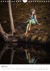 Nature Spirits by Julie Boehm (Wandkalender 2021 DIN A2 hoch)