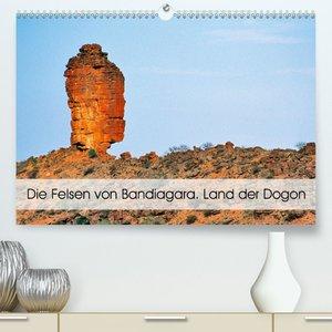 Die Felsen von Bandiagara. Land der Dogon (Tischkalender 2021 DI