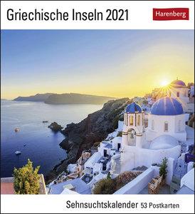 Griechische Inseln Kalender 2021