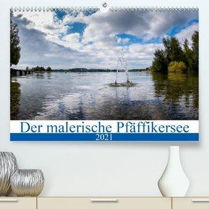 Der malerische Pfäffikersee (Wandkalender 2021 DIN A4 quer)