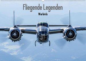 Fliegende Legenden - Warbirds (Tischkalender 2021 DIN A5 quer)
