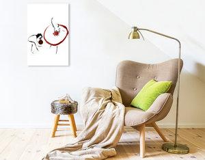 Premium Textil-Leinwand 80 cm x 120 cm  hoch ZUGREIFEN