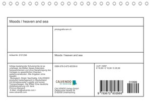 MOODS / heaven and sea (Wandkalender 2021 DIN A4 quer)