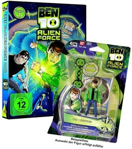Ben 10 Alien Force - Staffel 1 / Vol. 1 inkl. Bandai Actionfigur