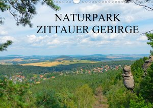 Naturpark Zittauer Gebirge (Wandkalender 2021 DIN A2 quer)