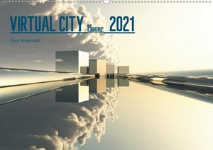 VIRTUAL CITY PLANER 2021 (Tischkalender 2021 DIN A5 quer)