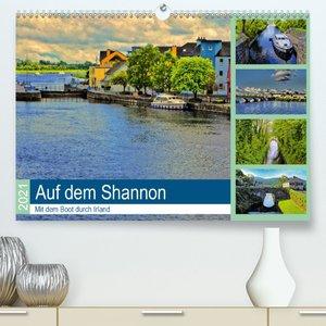 Auf dem Shannon - Mit dem Boot durch Irland (Wandkalender 2021 D