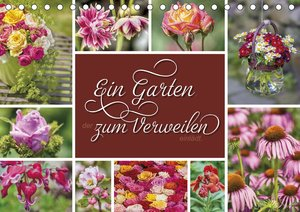 Ein Garten, der zum Verweilen einlädt (Wandkalender 2021 DIN A2