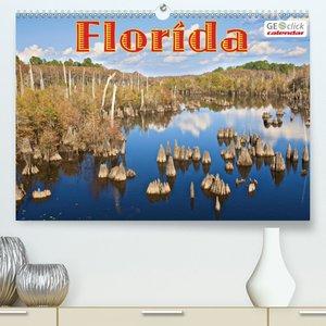 GEOclick calendar: Florida - Familienplaner hoch (Wandkalender 2